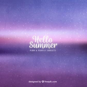抽象的な夏の背景