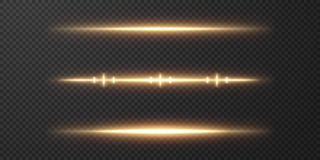 Abstract sun light rays. bright strip of light on a transparent background.