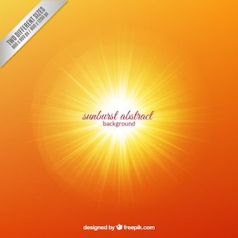 Abstract background sunburst