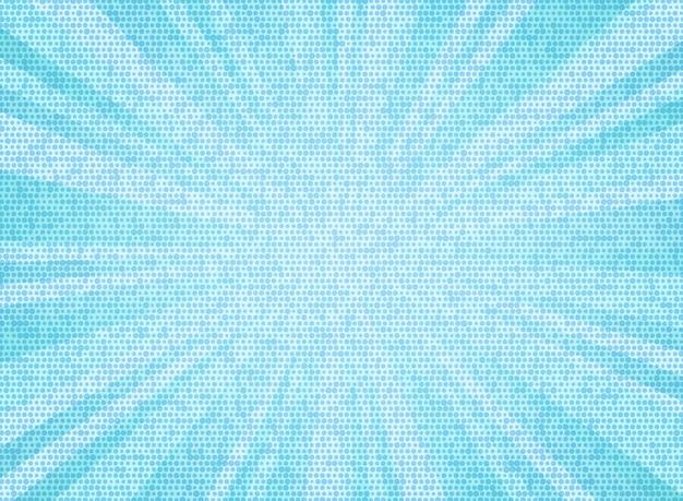 Abstract sunburst blue sky color circle pattern texture design background.