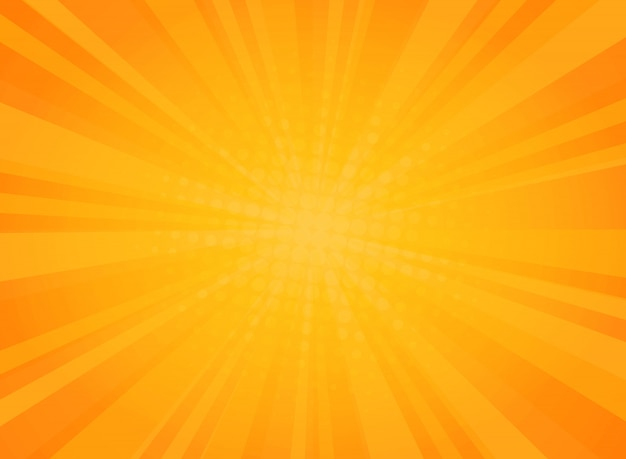 Abstract sunny radiance pattern