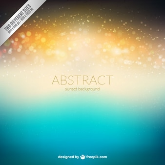 Abstract sunsent background