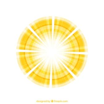 Abstract sunshine