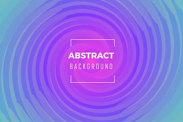Abstract swirls circle background
