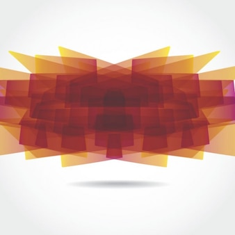 Abstract swoosh graphic element