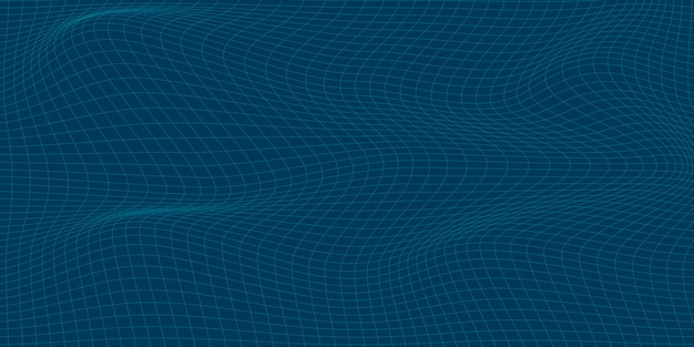 Абстрактная таблица синий фон с динамическим треугольником. технология particle mist network cyber security.