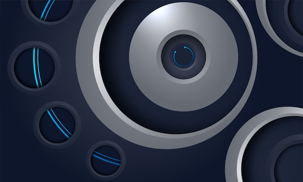 Abstract tech background concept design