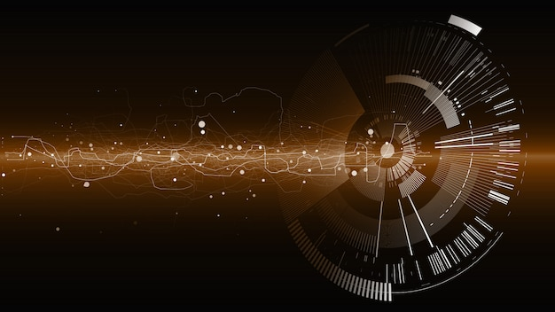 Abstract tech design background