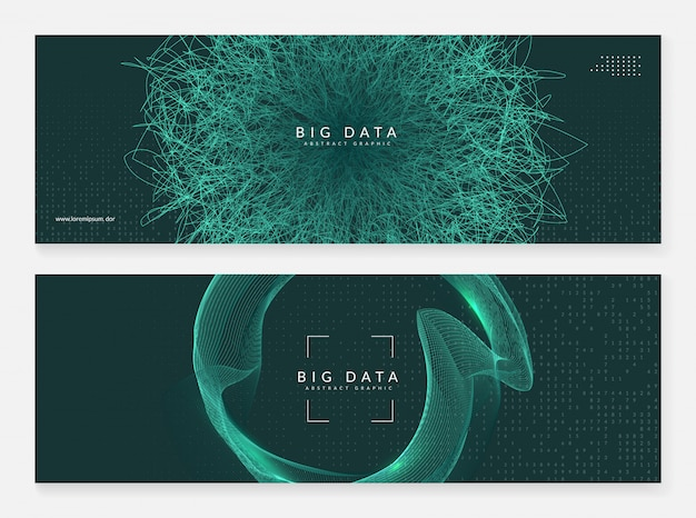 Abstract tech visuals background