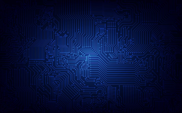 Abstract technological circuit background.