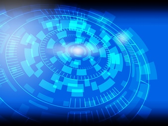 Abstract Technology Background cyber security.