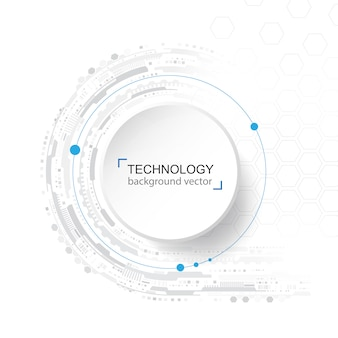 Abstract technology background. digital network and high tech concept