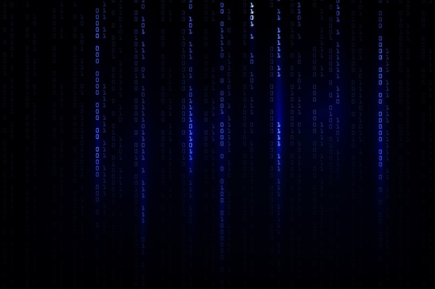 Abstract technology background . hacker concept ,programming coding, binary computer code.matrix background style.