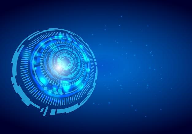 Абстрактный технологический фон концепция высокотехнологичной коммуникации