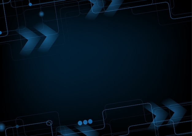 Abstract technology background hi-tech