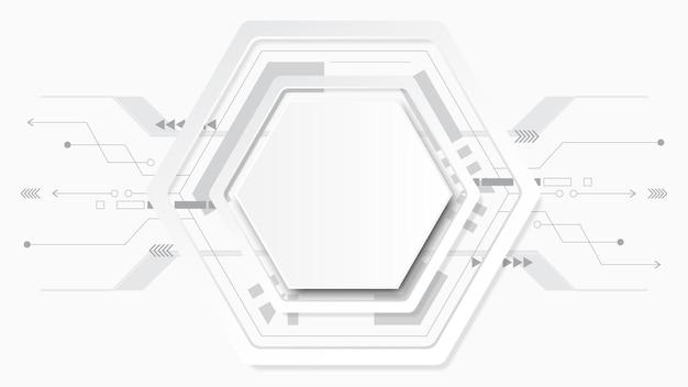 抽象的な技術の背景図