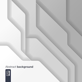 Абстрактный технологический фон с интегрированными фигурами в геометрической композиции для презентаций, бизнес, веб, компьютерные и мобильные приложения, графика