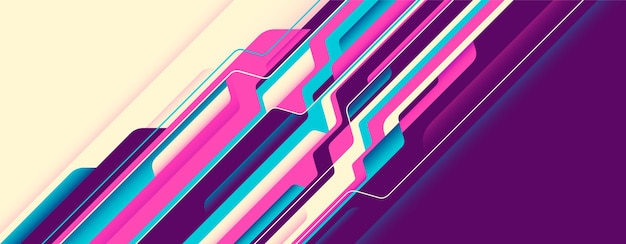 Abstract technology background. Premium Vector