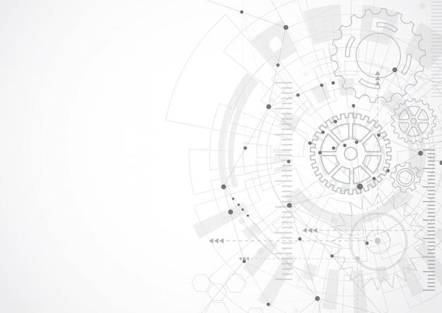 抽象的な技術の背景