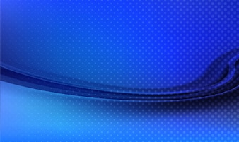 Abstract technology blue wave background