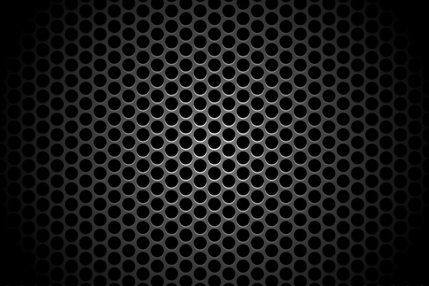 Abstract technology circle hole shadow backdrop background concept metallic on hi tech fut