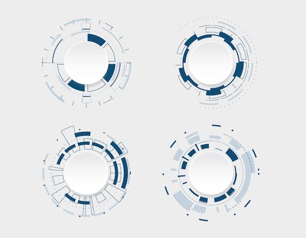 抽象的な技術コミュニケーションデザイン。