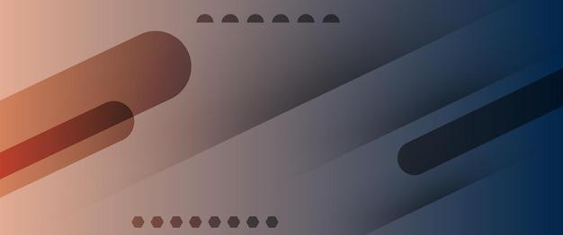 Абстрактные технологии темно-синий светло-коричневый градиент обои фон векторные иллюстрации