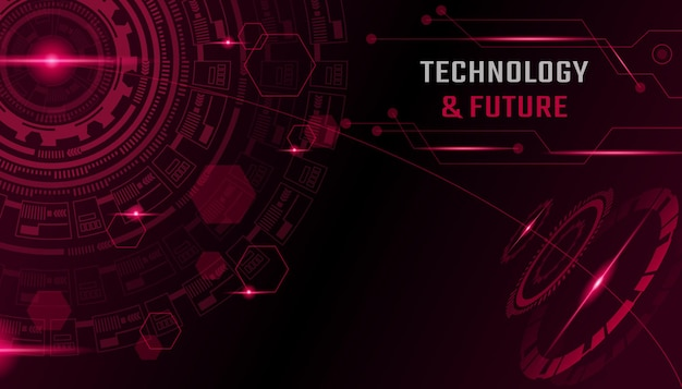 Abstract technology and future background