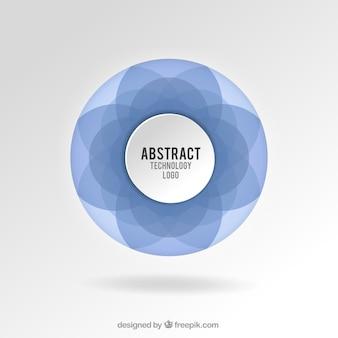 抽象的なテクノロジーロゴ