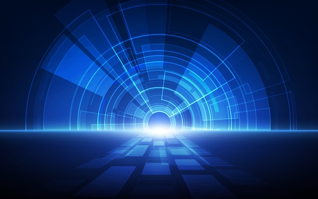 Abstract technology speed concept. background