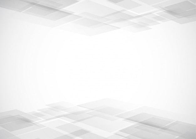 Abstract technology white and gray color modern background