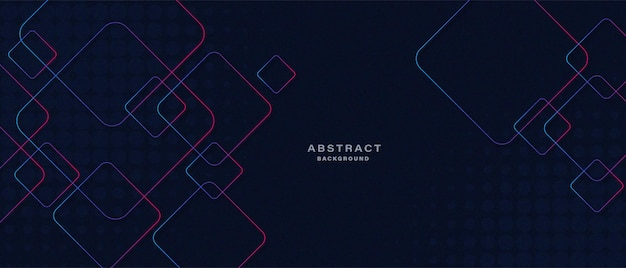 Abstract technology with glowing lines background