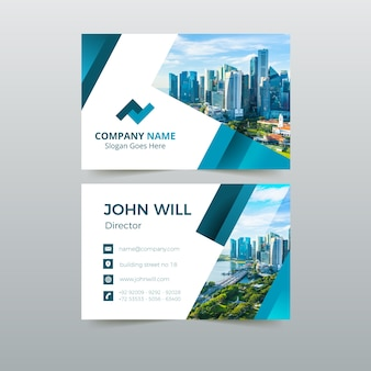 Abstract template business card pack