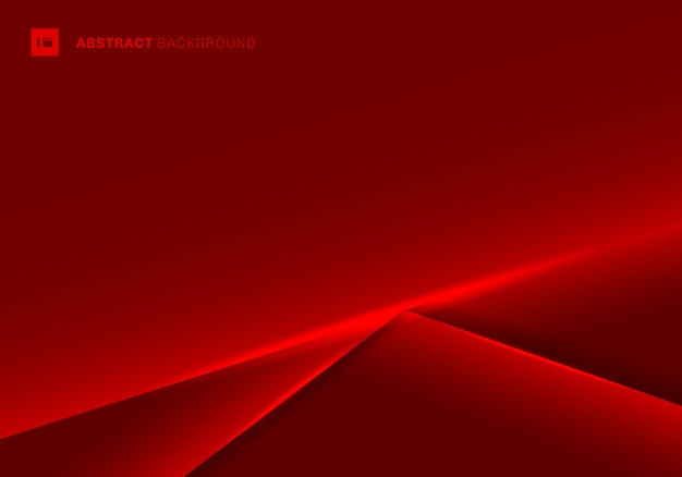 Abstract template red frame background