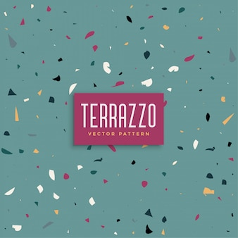 Abstract terrazzo texture background background