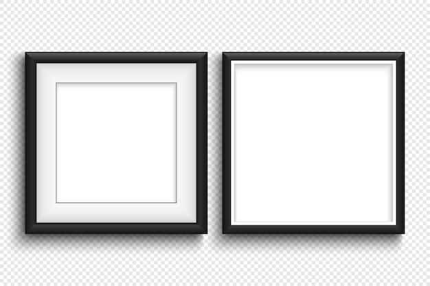 Абстрактное текстовое поле с белой рамкой на прозрачном фоне