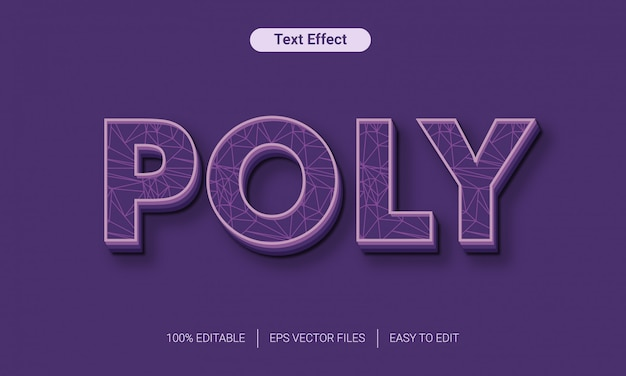 Abstract text effect eps vector files with line detail