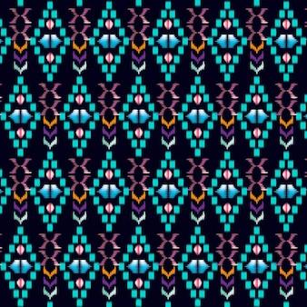 抽象テキスタイルパターン