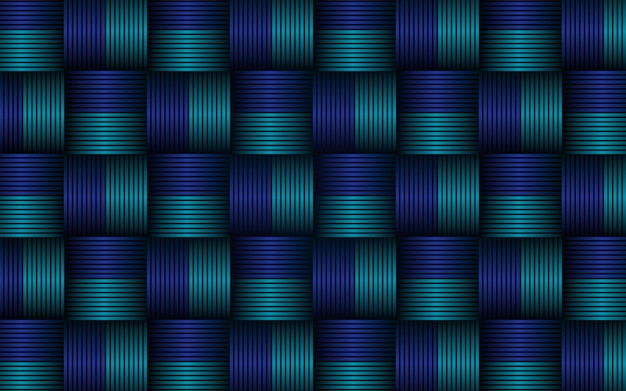 Abstract texture stripes blue seamless pattern background