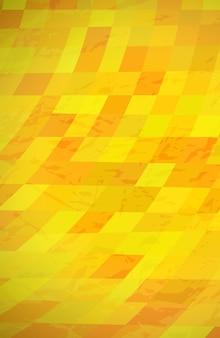 黄色のカラフルな長方形の抽象的なテクスチャ背景。ストーリーバナーデザイン。美しい未来的なダイナミックな幾何学模様のデザイン。ベクトルイラスト