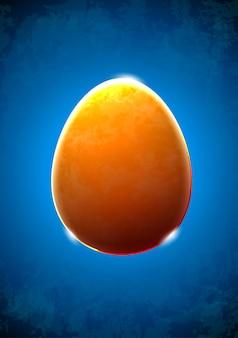 抽象的なテクスチャガラスの卵