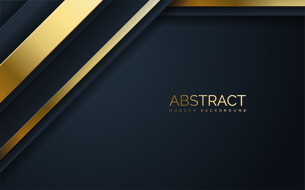 Abstract  thick gold line .