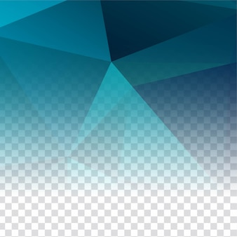 Abstract transparent polygonal modern background