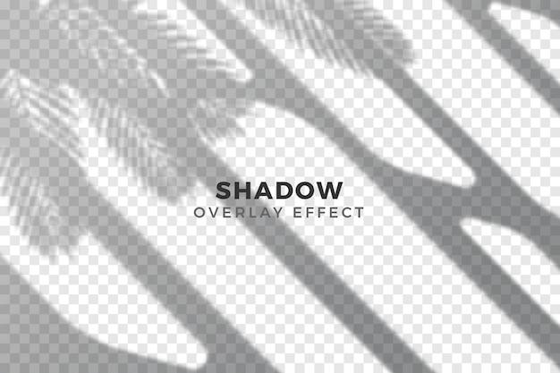 Abstract transparent shadows design