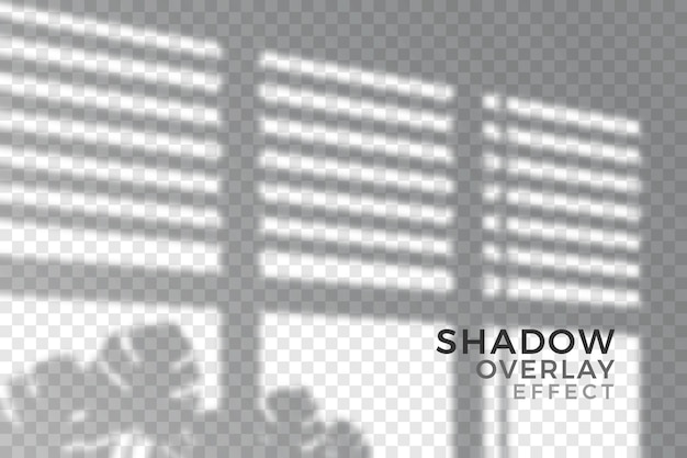 Abstract transparent shadows theme