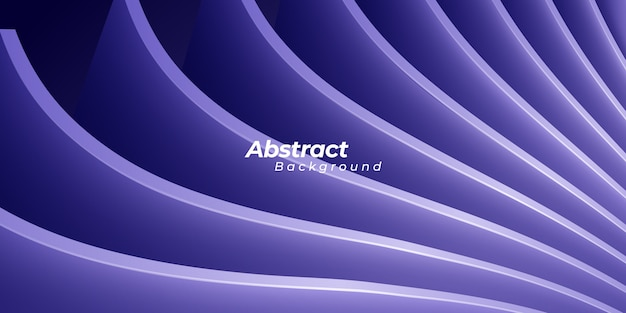 Abstract trendy 3d purple background