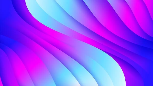 抽象的なトレンディなベクトルカラフルな背景。現代の最小限の幾何学的なベクトル図。