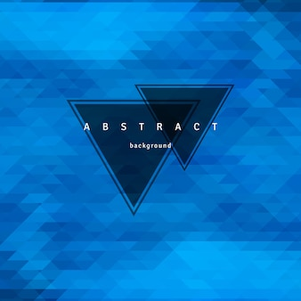 Abstract triangle background, mosaic design elements.