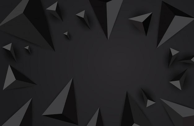추상 삼각형 배경