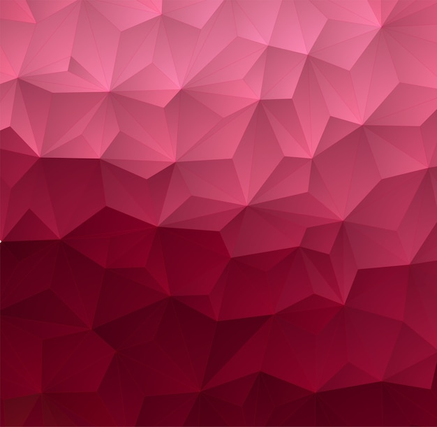 Abstract triangle colorful background.